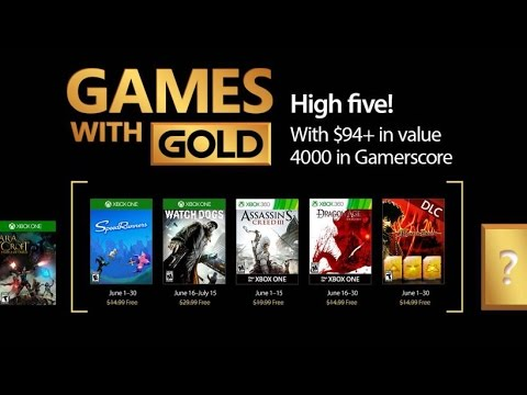 Xbox - Games with Gold June 2017 Xbox one - Xbox 360