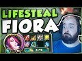 HOW BROKEN CAN FULL LIFESTEAL BE ON FIORA? NEW OP FIORA BUILD SEASON 7 GAMEPLAY! - League of Legends