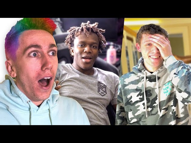 SIDEMEN REACT TO MY NEW HAIR *GONE WRONG*