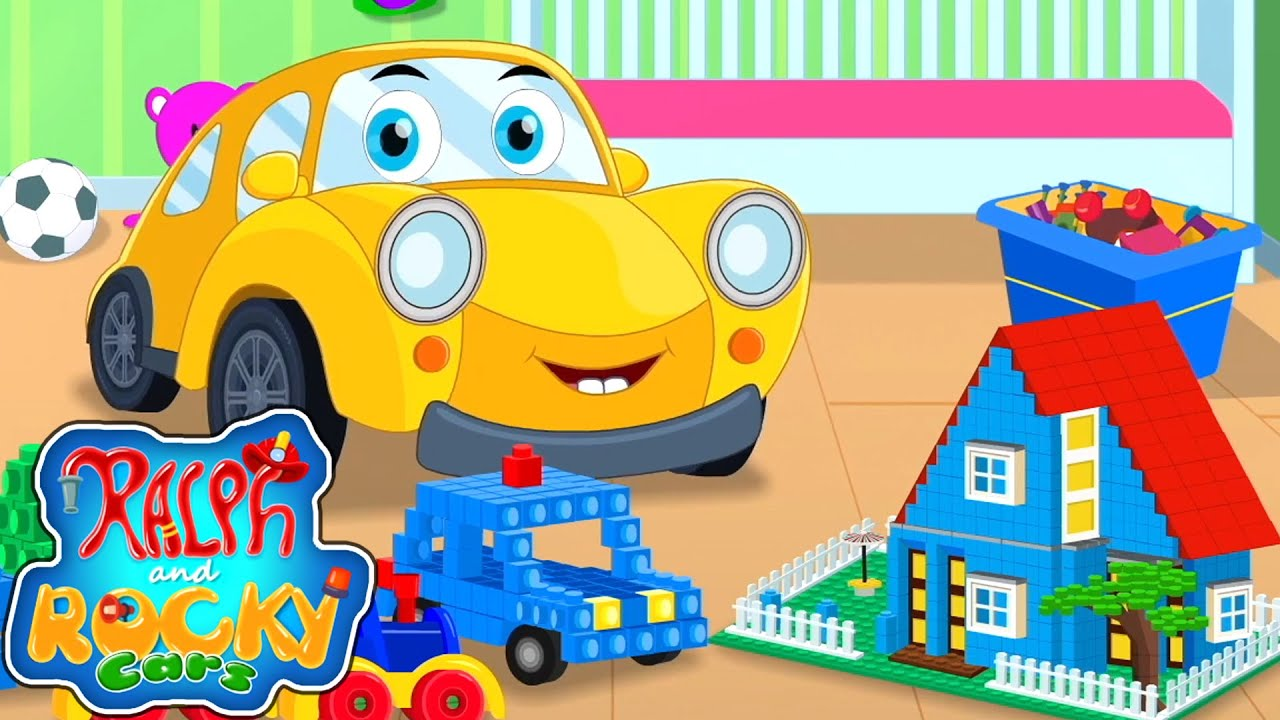 Let's Build Song | Songs For Baby | Nursery Rhymes and Kids Song with Ralph and Rocky | Car Cartoons