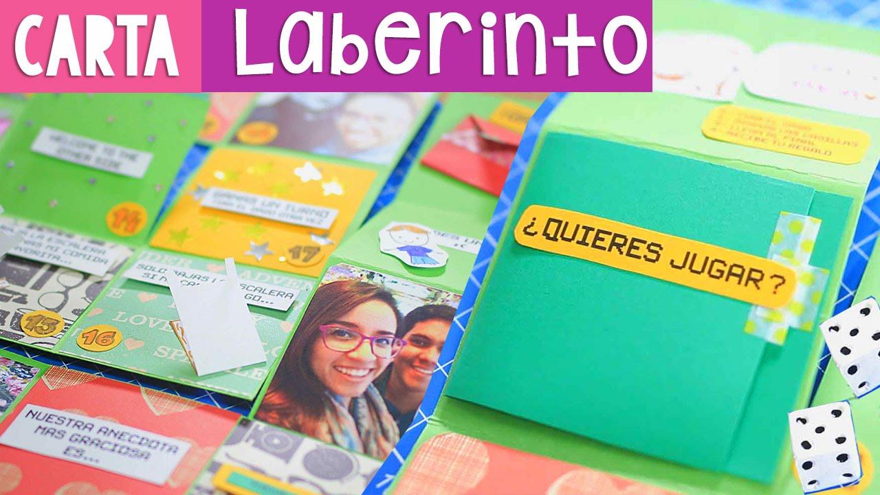 Carta Laberinto Regalo Original Craftingeek