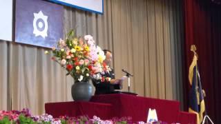 Repeat youtube video 平成25年度真岡東中学校入学式 PTA会長祝辞 3/6 2013.4.8