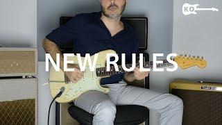 Download Lagu Dua Lipa - New Rules - Electric Guitar Cover by Kfir Ochaion Mp3
