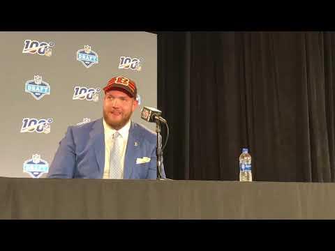 Jonah Williams Cincinnati Bengals 2019 NFL Draft 1st Round Pick Interview