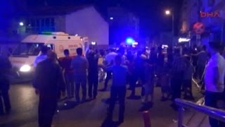 An explosion ripped through a wedding in southern Turkey Saturday night killing at least 30 people.