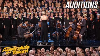 Hummingsong Choir Bring Shane To Tears | Auditions | Australia's Got Talent 2019