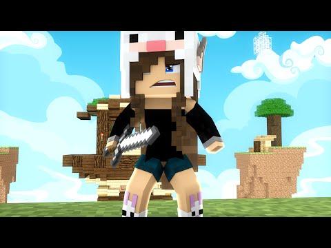 Minecraft: BEBEZINHA NO SKYWARS - ENCONTREI HACK!