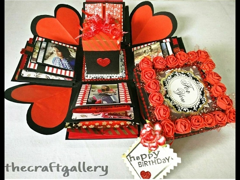 Explosion Box 3 Layer Handmade Gift Valentine S Day Special