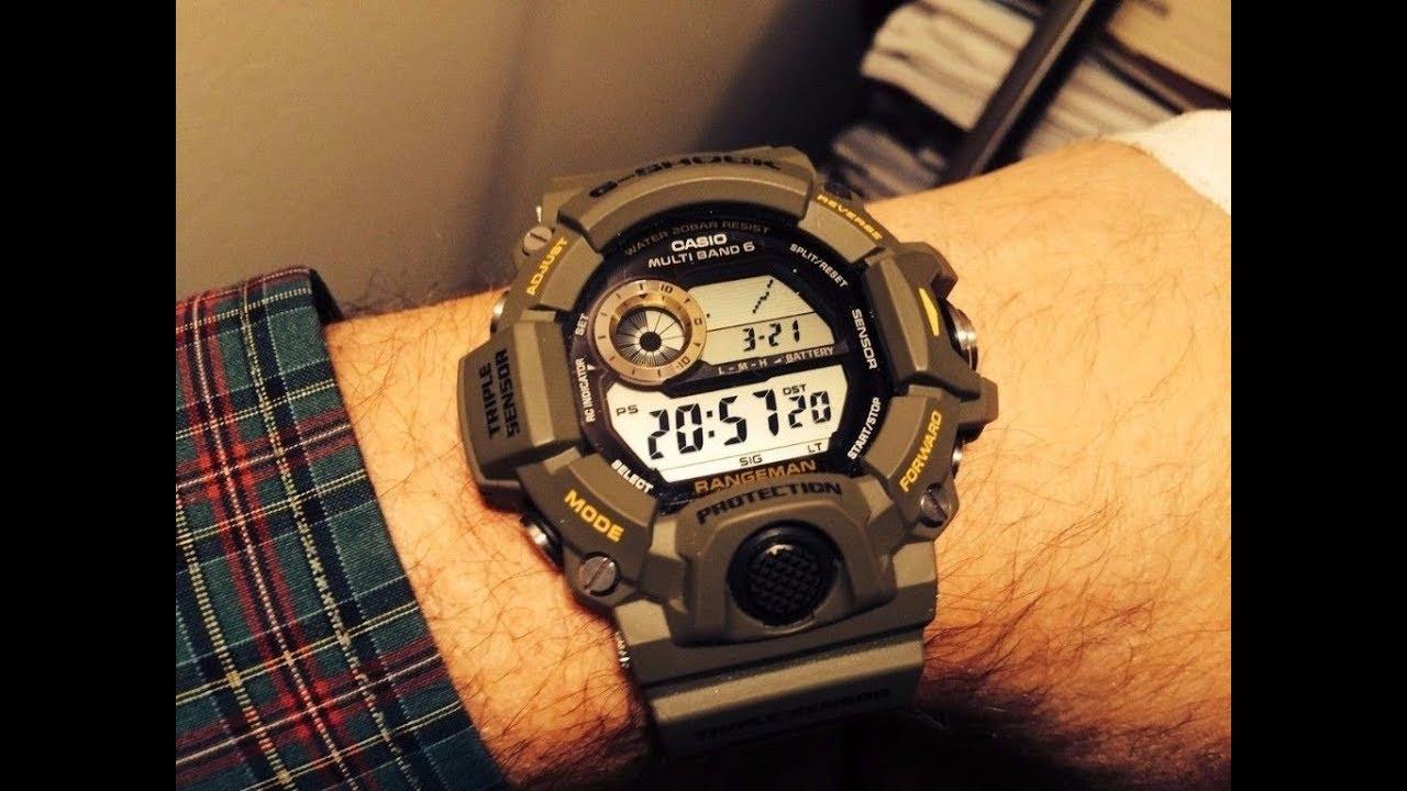 b650d7d44ac Relógio g shock gw 9400 PTBR - YouTube