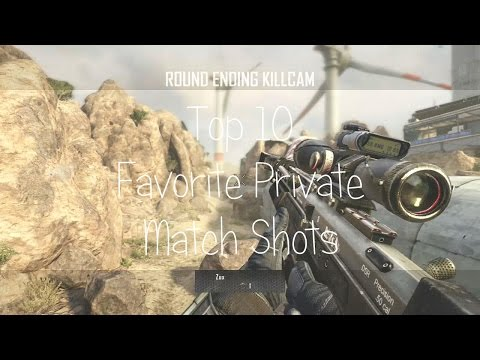 Top 10 Favorite Private Match Shots (Commentary)   Zux OS