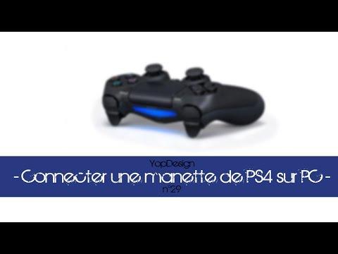 Jouer avec une manette PS4 (DualShock 4) sur PC