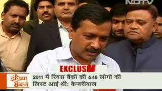 Arvind Kejriwal speaking about Demonetization scam on NDTV India. December 1 ,2016