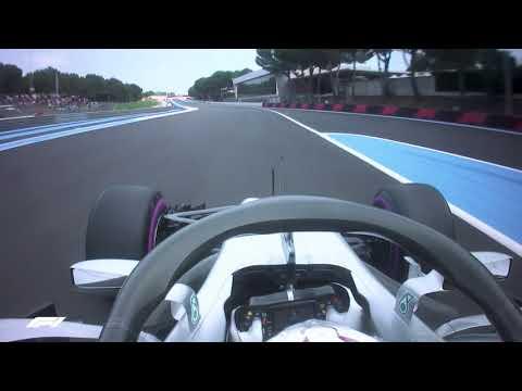 Lewis Hamilton's Pole Lap   2018 French Grand Prix