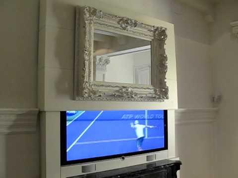 Instalación TV LOEWE Individual Compose 55 LED en mueble motorizado