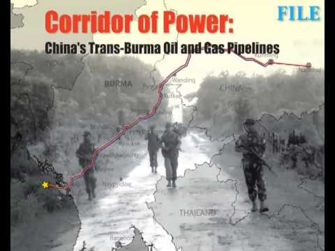 Concern over rights abuse along gas pipeline to China