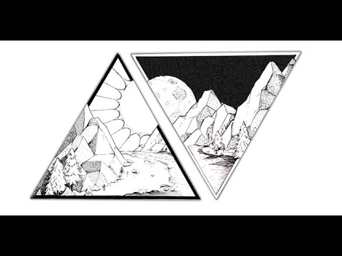 Time Lapse Couples Matching Triangle Tattoo Drawing In Ink Youtube