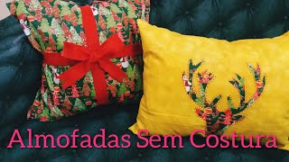 Almofadas Natalinas Sem Costura