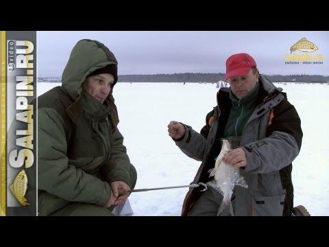 Ловля подлещика зимой на водохранилищах без течения [salapinru]