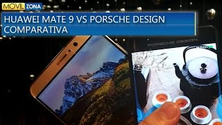 Huawei Mate 9 vs Huawei Mate 9 Porsche Design