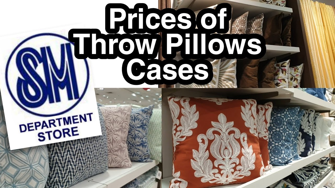 prices of latest throw pillow cases designs at sm city taytay tita jen