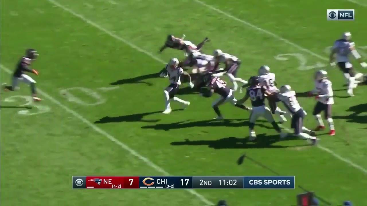 Cordarrelle Patterson Kickoff Touchdown | Patriots vs Bears