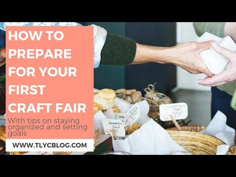 How to Prepare for Your First Craft Show [Instagram LIVE Replay]