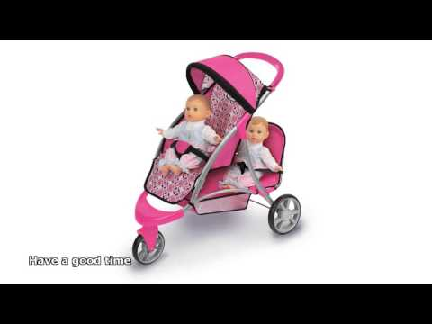 baby-doll-with-stroller