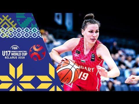 Argentina v Hungary - Full Game - FIBA U17 Women's Basketball World Cup 2018
