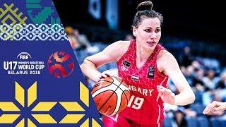 Argentina v Hungary - Full Game - FIBA U17 Women's Basketball World Cup 2018 thumbnail