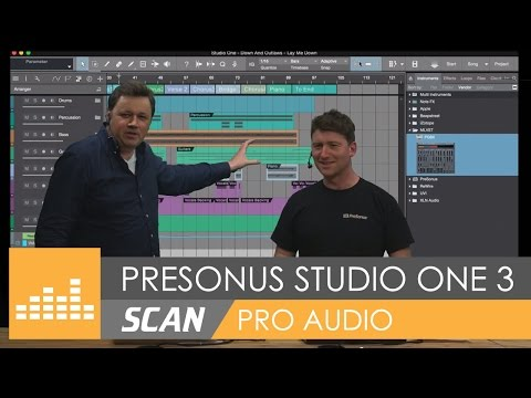 PreSonus - Studio One 3 - Official UK Launch Geek-inar!