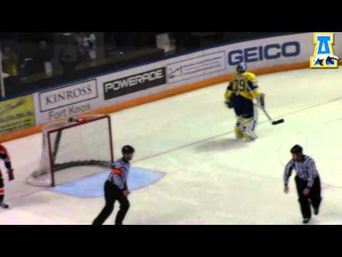 Alaska Hockey vs Bowling Green Shootout 12/8/12