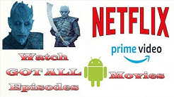 Watch Game of Thrones, Netflix, Prime Videos and Movies For Free.