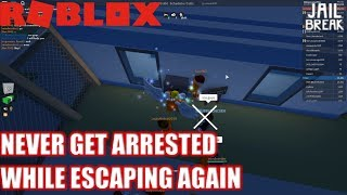 Roblox: JailBreak: NEVER get ARRESTED AGAIN while escaping with this trick