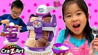10分で2種類のアイスクリームが作れると書いてある「Cra-Z-Art 2 in 1 I...