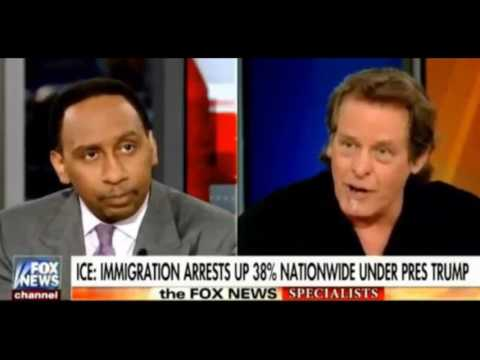 Stephen A Smith, Ted Nugent Agree Left Doesn't Know Difference Between Legal, Illegal Immigration