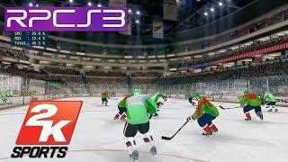 PS3 Emulator | NHL 2K8 on PC RPCS3 i7 4790k (2K Sports)