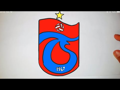 Trabzonspor Logosu Nasil Cizilir çok Kolay Trabzonspor Logosu