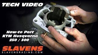How-to Port KTM Husqטarna 250 300