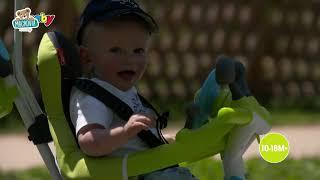 Trojkolka s poťahom Baby Driver Comfort Blue Smoby