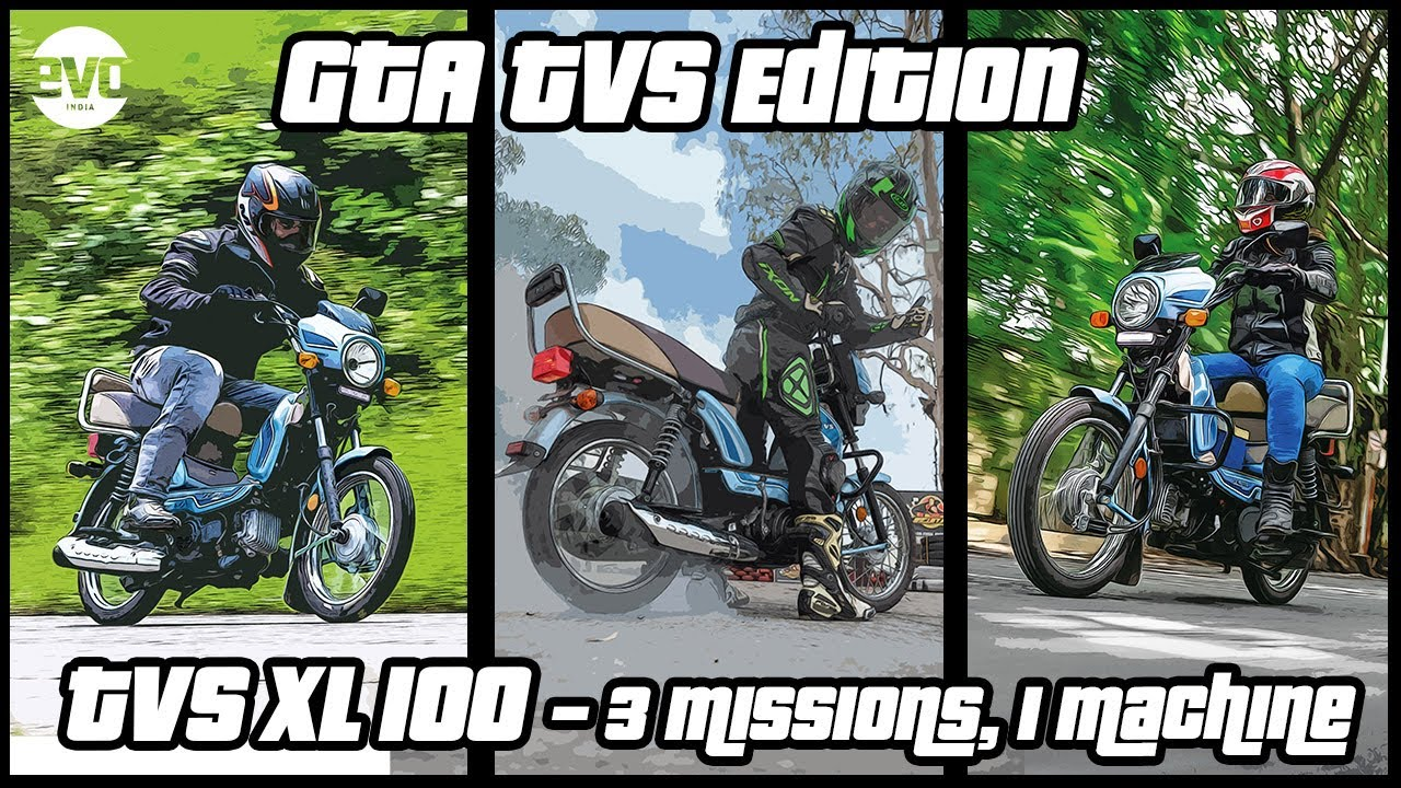 TVS XL 100 : There is more to it than meets the eye | Desi GTA | evo India