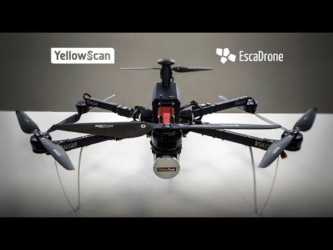 Démonstration Six3 Surveyor Mai 2017   Escadrone YellowScan