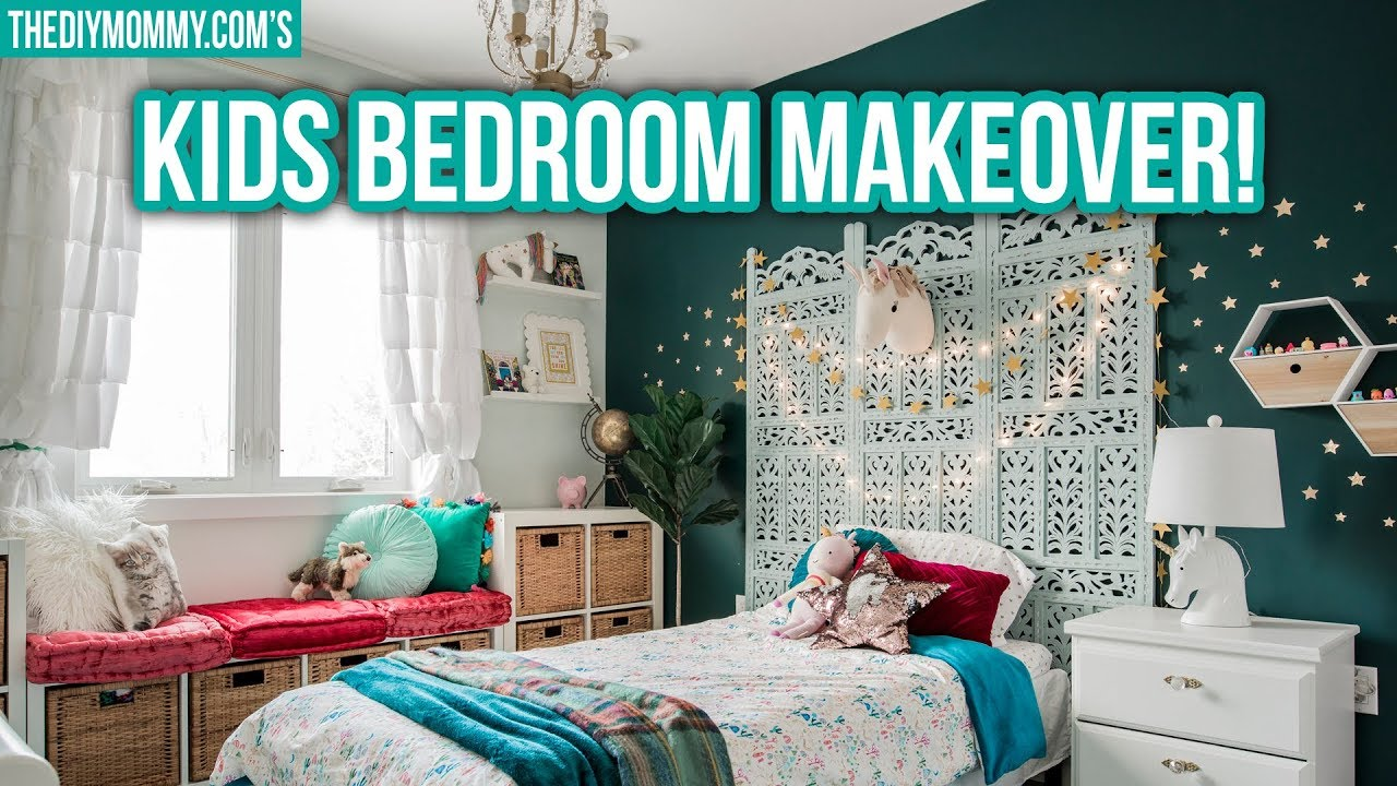 ✨MAGICAL KIDS BEDROOM MAKEOVER✨ - YouTube