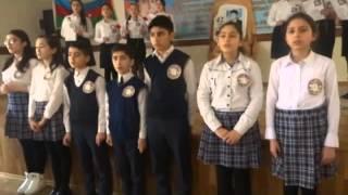 Haci Soltan Alizade Buzovna 234 № məktəb şəhid Emin Rafiq oğlunun xatirə gecəsi