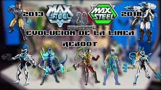 Max Steel Evolucion De La Linea Reboot 2013 - 2018