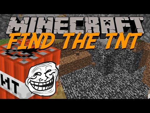 Minecraft | Find the TNT | figgehn & Whippit spränger hål