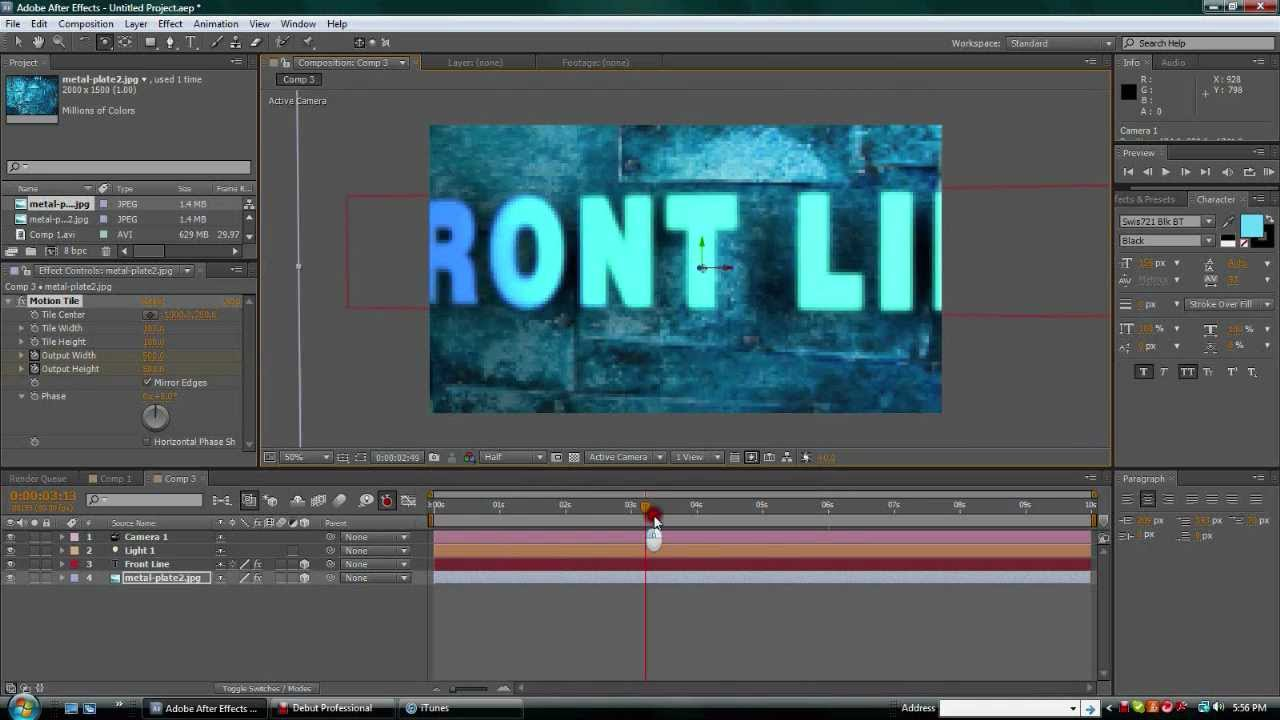 CINEWARE For After Effects CC & Cinema 4D Tutorials