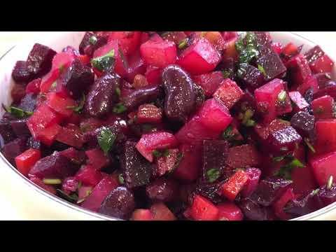 Как делать салат винегрет