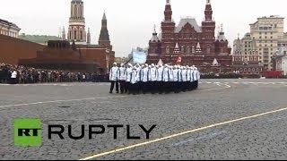 Военный парад 7 ноября на Красной площади