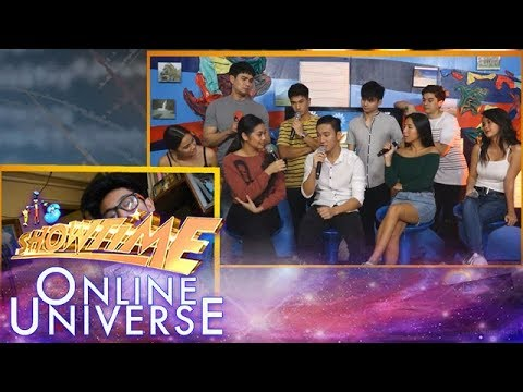 Showtime Online Universe: John Michael Dela Cerna shares about his love life in Show and Tell