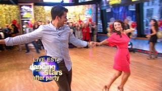"""""""Dancing With the Stars"""" Finalist Rob Kardashian, Cheryl Burke Dance the Samba on """"GMA"""""""
